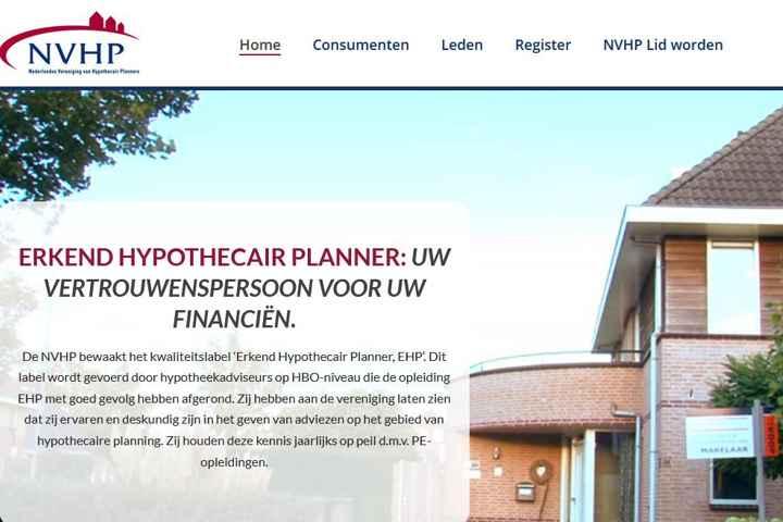 NVHP: Nederlandse Vereniging van Hypothecair Planners