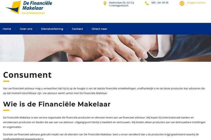 Serviceprovider De Financiële Makelaar (DFM)